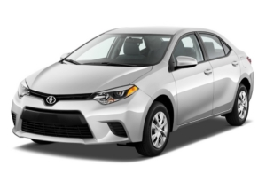 Car Rentals Downtown Vancouver - Corolla